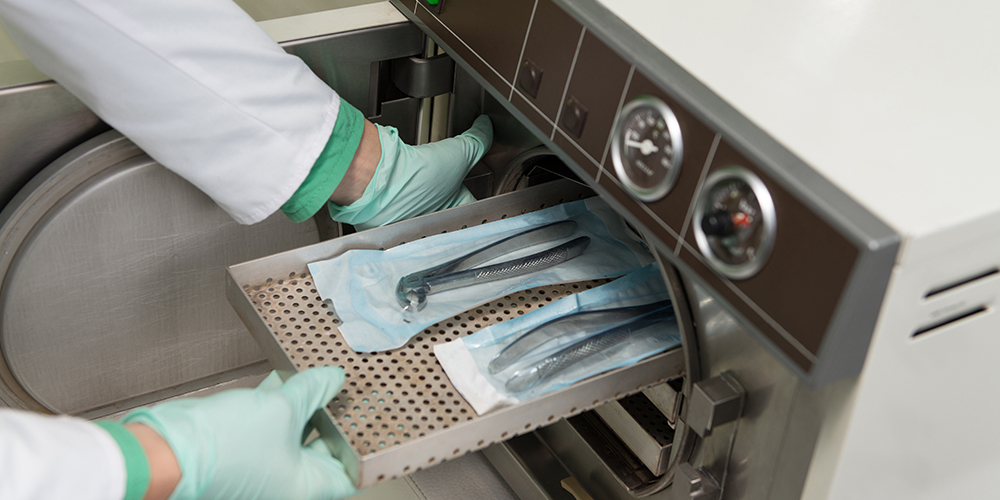 Qualità Sicurezza del paziente Sterilizzazione Autoclave Studio Bianconi dentista Bolzano