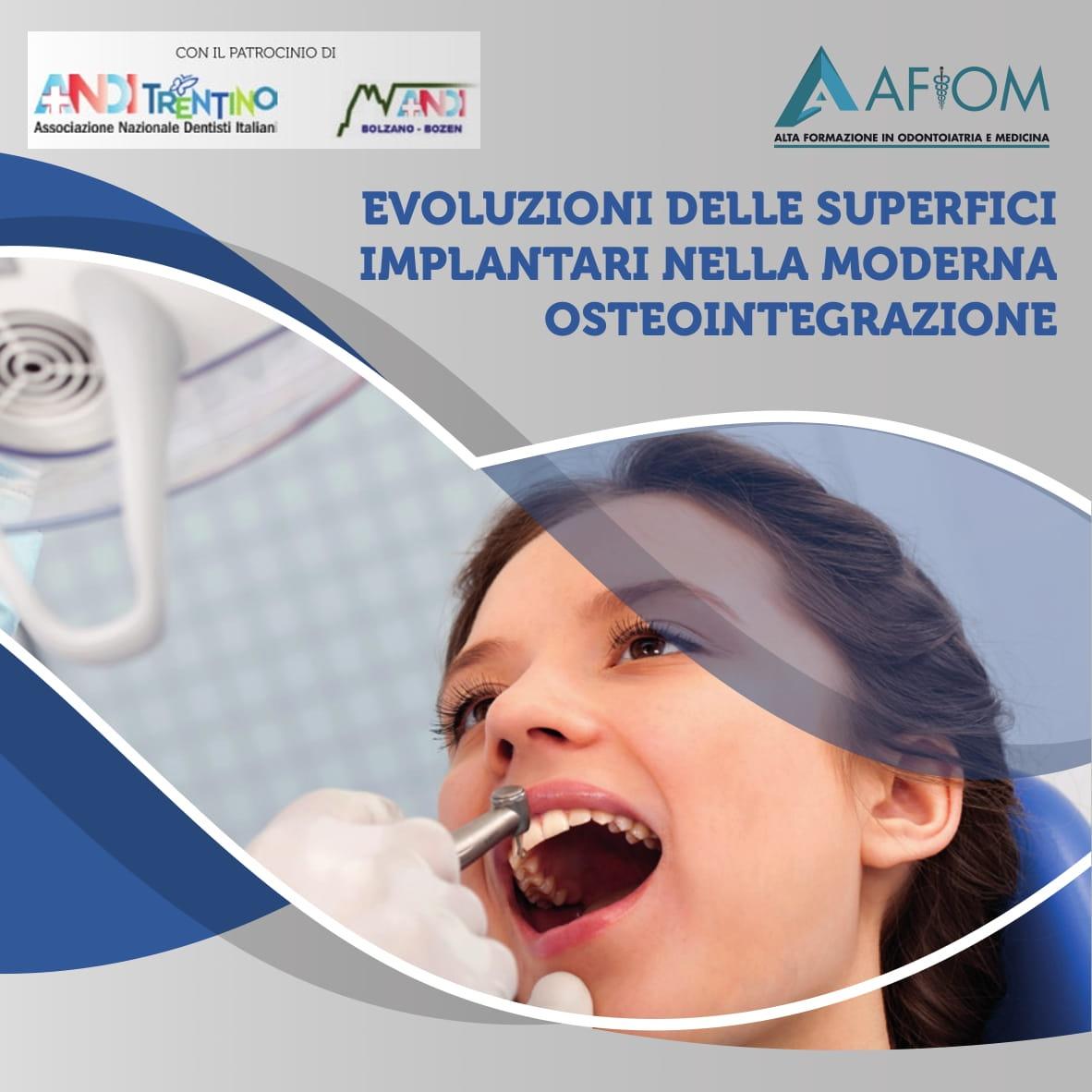 Evoluzioni Delle Superfici Implantari Nella Moderna Osteointegrazione